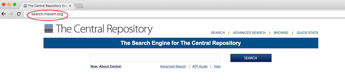 maven central repository website