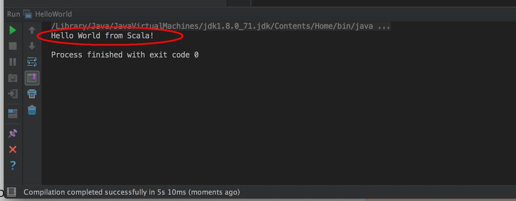 Scala Tutorial - Your first Scala Hello World application
