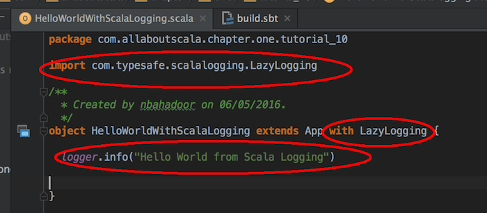 intellij import dependencies using logging