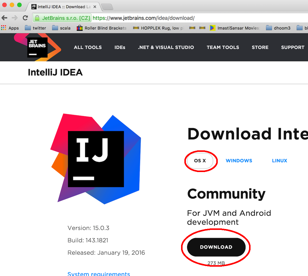 Intellij download and install jre x86 by jetbrains