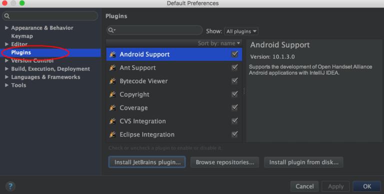 Manage your Plugins in IntelliJ Simple Build Tool
